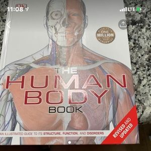 Other - Human Body Book  BIOLOGY ANATOMY PHYSIOLOGY